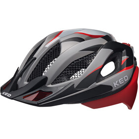 KED Spiri Two Pyöräilykypärä , punainen/musta